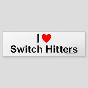Switch Hitters Sticker (Bumper)