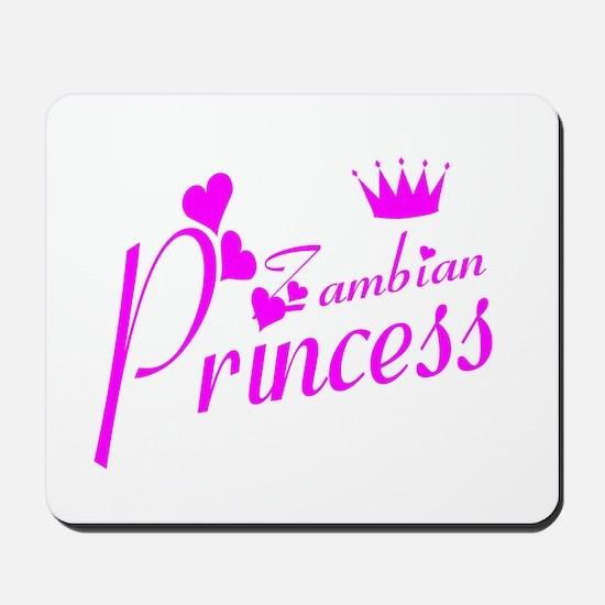 Zambian princess Mousepad