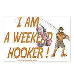 Weekend Hooker Postcards (Package of 8)