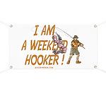 Weekend Hooker Banner