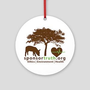 Logo Round Ornament