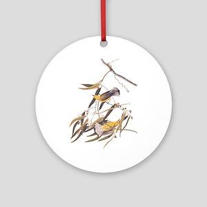 Prothonotary Warbler Audubon Birds Round Ornament