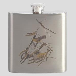 Prothonotary Warbler Audubon Birds Flask