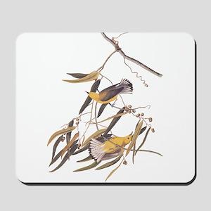 Prothonotary Warbler Audubon Birds Mousepad