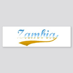 Zambia beach flanger Bumper Sticker