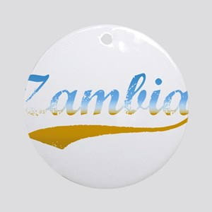 Zambia beach flanger Ornament (Round)