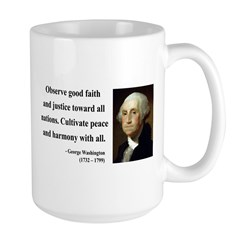 George Washington 8 Large Mug