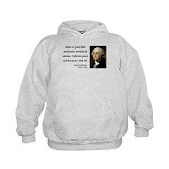 George Washington 8 Hoodie