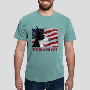 God Bless Our VETS Mens Comfort Colors Shirt