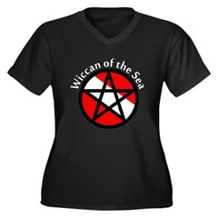 https://i3.cpcache.com/product/192776458/wiccan_of_the_sea_womens_plus_size_vneck_dark_t.jpg?color=Black&height=240&width=240