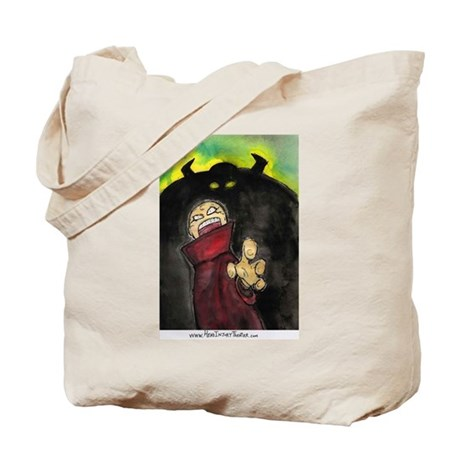 Shadow Monk Tote Bag