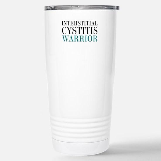 Interstitial Cystitis Warrior Travel Mug