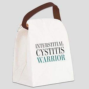 Interstitial Cystitis Warrior Canvas Lunch Bag