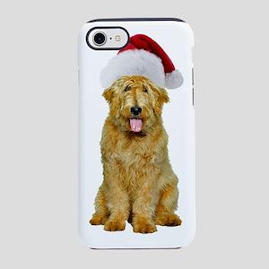 Goldendoodle Christmas iPhone 8/7 Tough Case