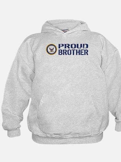 U.S. Navy: Proud Brother (Blue) Hoodie