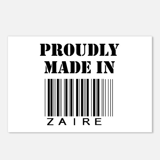 Made in Zaire Postcards (Package of 8)
