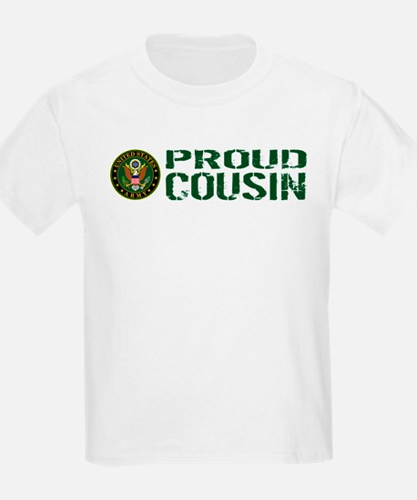 U.S. Army: Proud Cousin (Green) T-Shirt