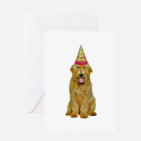 Goldendoodle Birthday Greeting Cards