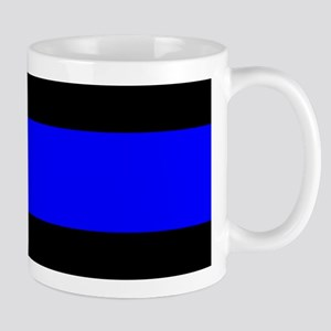 Police: The Thin Blue Line Mug