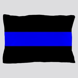 Police: The Thin Blue Line Pillow Case