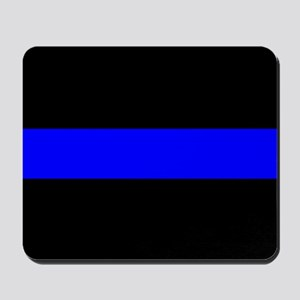 Police: The Thin Blue Line Mousepad