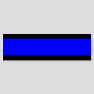 Police: The Thin Blue Line Sticker (Bumper)