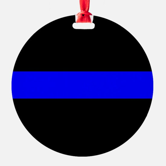Police: The Thin Blue Line Ornament