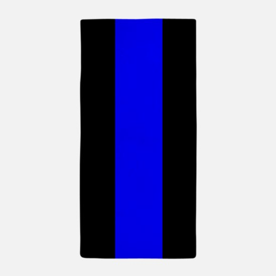 Police: The Thin Blue Line Beach Towel