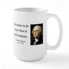 George Washington 10 Large Mug