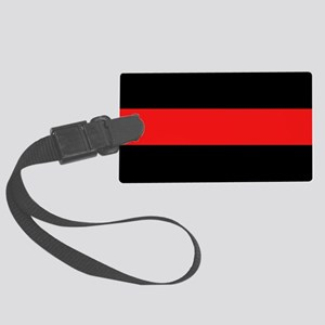Firefighter: Red Line Large Luggage Tag