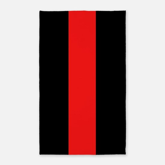 Firefighter: Red Line Area Rug