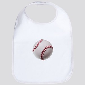 new baseball isolated on white background Bib