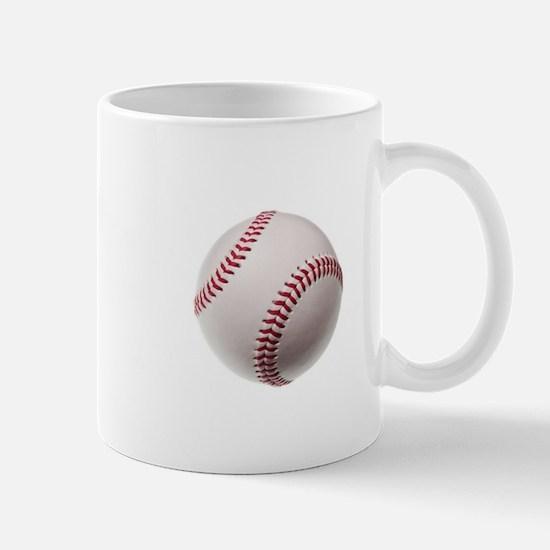 new baseball isolated on white background Mugs