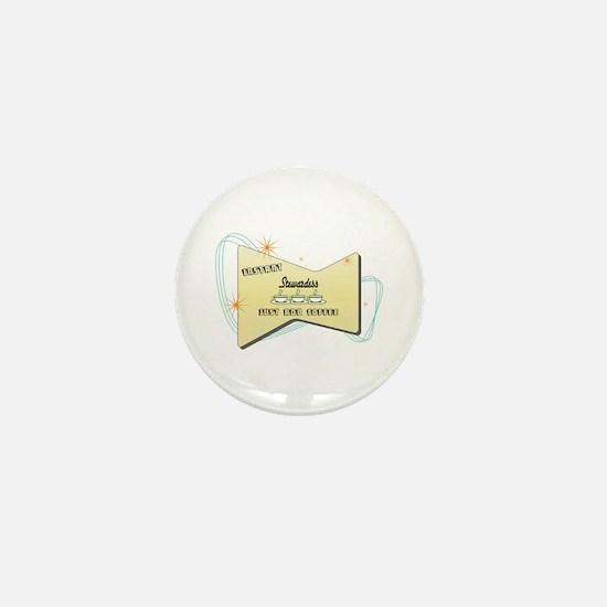 Instant Stewardess Mini Button