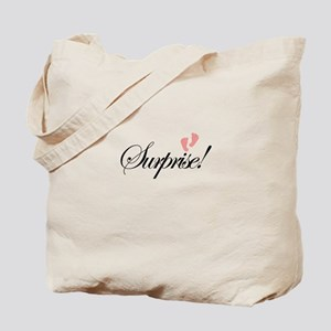 Surprise Baby Feet Maternity Tote Bag