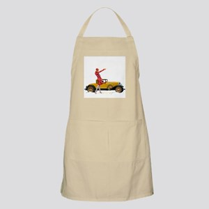 Fast Car and Flapper Lady Apron
