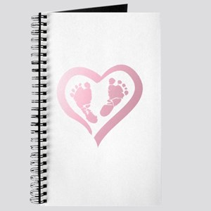 Baby Prints in Heart by LH Journal