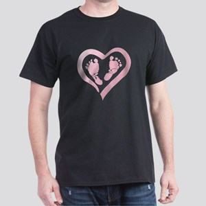 Baby Prints in Heart by LH T-Shirt
