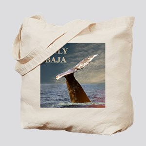 ONLY BAJA WILD SIDE WHALE Tote Bag