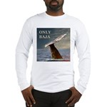 ONLY BAJA WILD SIDE WHALE Long Sleeve T-Shirt