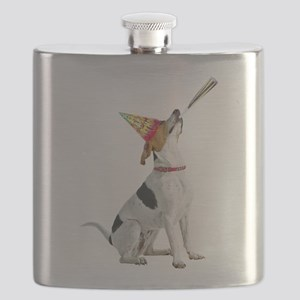 American Foxhound Birthday Flask