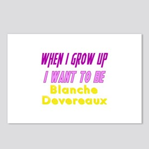 Be Blanche When I Grow Up Postcards (Package of 8)