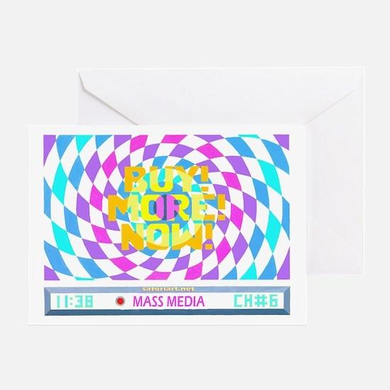 Mass Media 2 Greeting Card