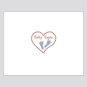 Baby Feet and Heart Posters