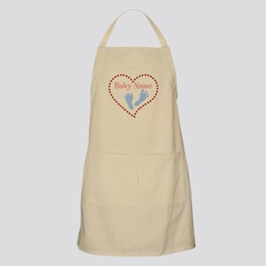 Baby Feet and Heart Apron