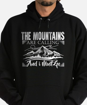 Funny Mountains Hoodie (dark)