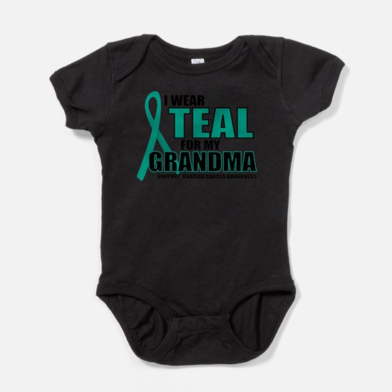 Unique I wear teal for my aunt Baby Bodysuit