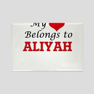 My heart belongs to Aliyah Magnets