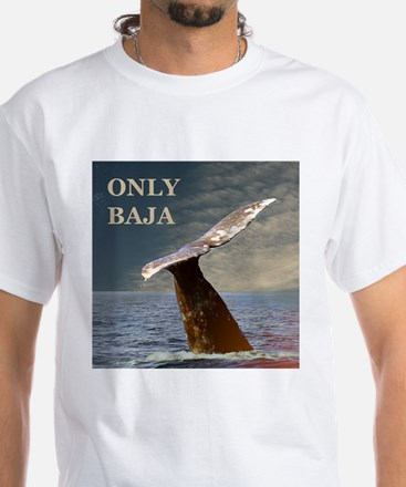 ONLY BAJA WILD SIDE WHALE White T-Shirt