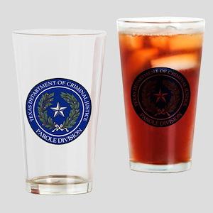 TDCJ Parole Division Drinking Glass